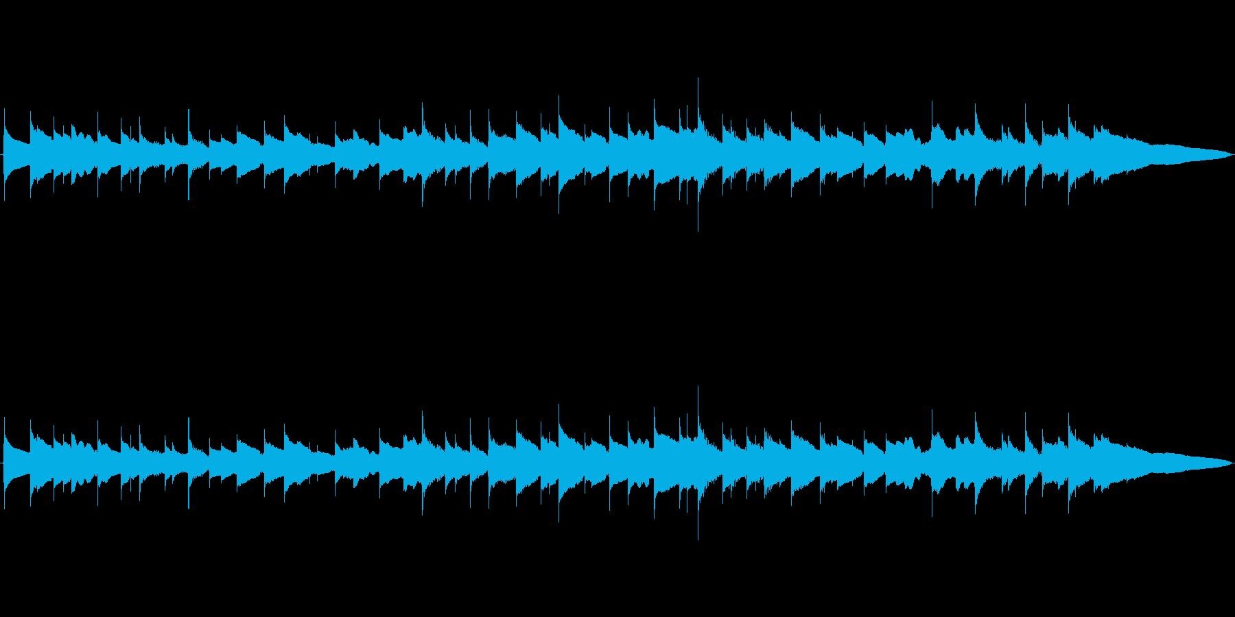 シンプル切なさのハーモニクスの再生済みの波形