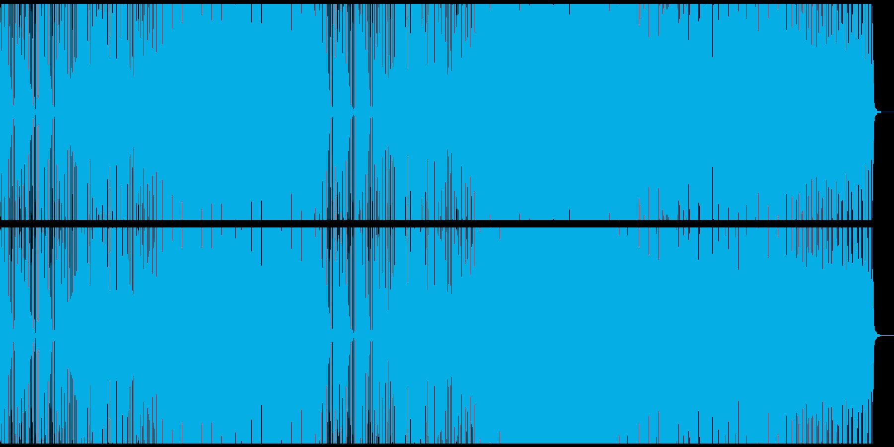 綺羅びやかなシンセ音のEDM風バラードの再生済みの波形
