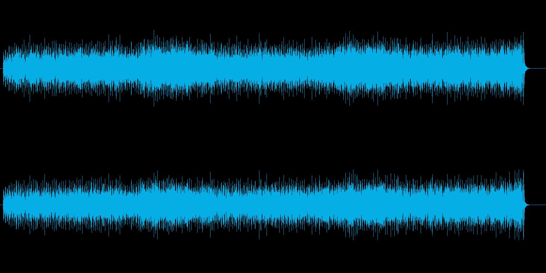 ノリの良いラテン系ニューミュージックの再生済みの波形