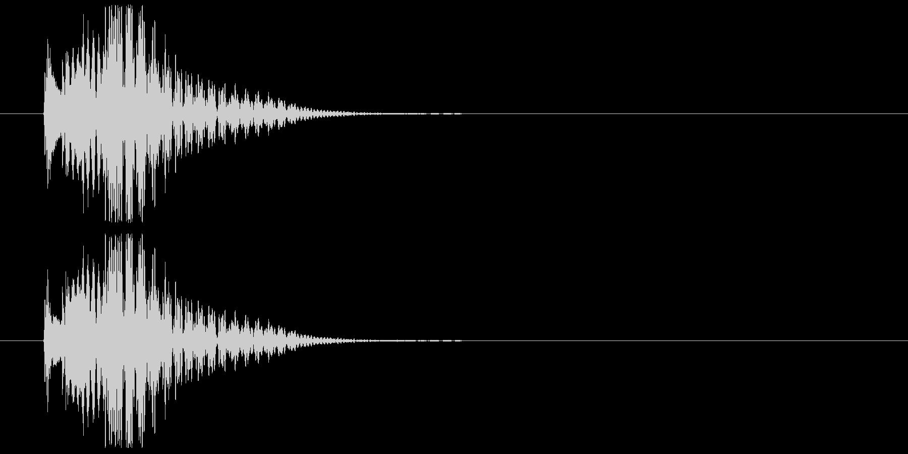 木琴系の場面展開SEの未再生の波形