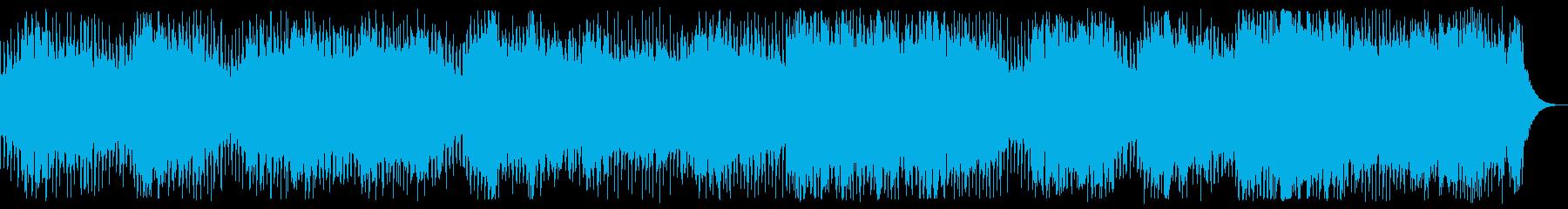 時空の歪み ダークで奇妙なBGMの再生済みの波形