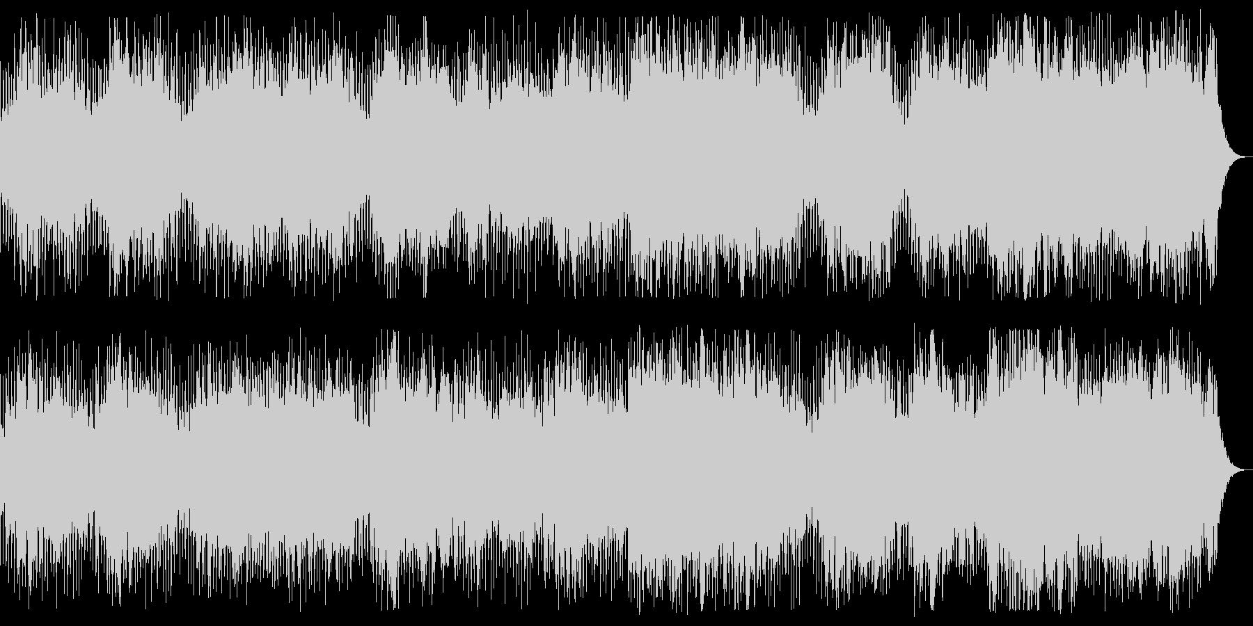時空の歪み ダークで奇妙なBGMの未再生の波形