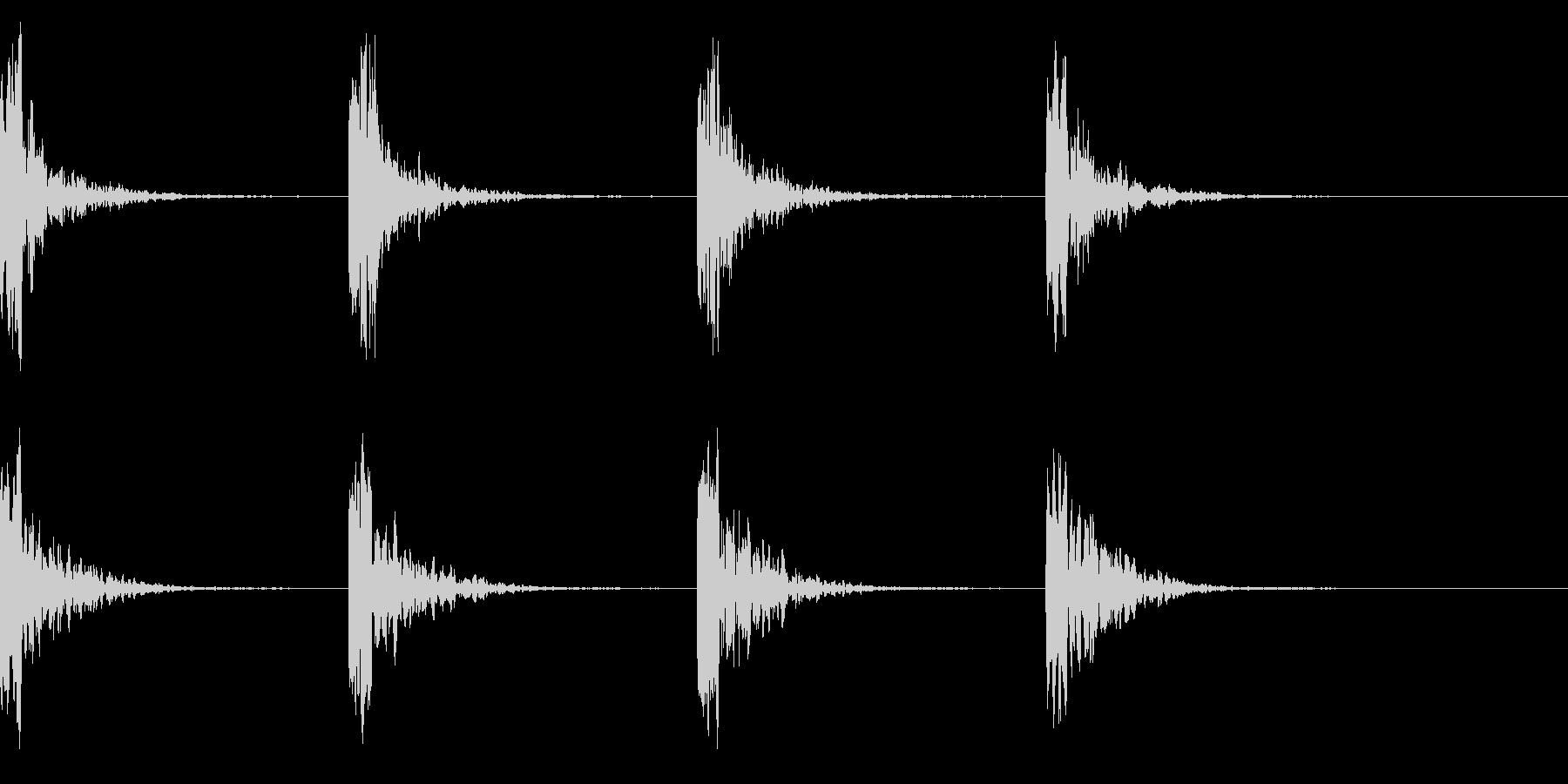 コーン・コーン・潜水艦のソナー音の未再生の波形