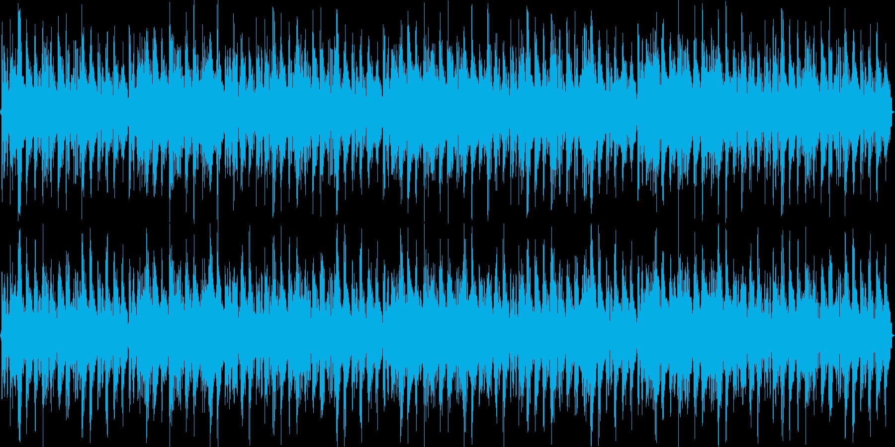 DJ用やループBGMとして使えるトランスの再生済みの波形