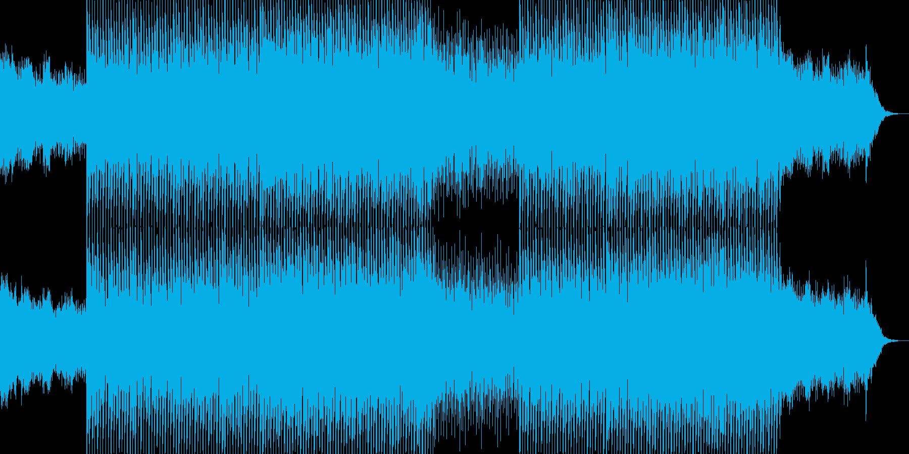 EDM明るいクラブ系キラキラシンセ-05の再生済みの波形
