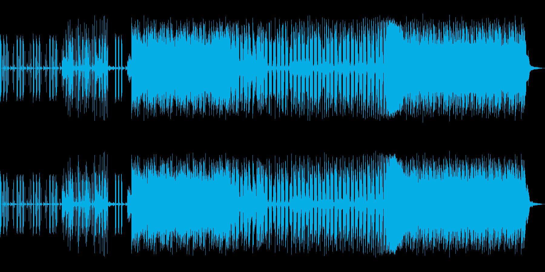 EDM調にコミカルさを足した感じです。の再生済みの波形