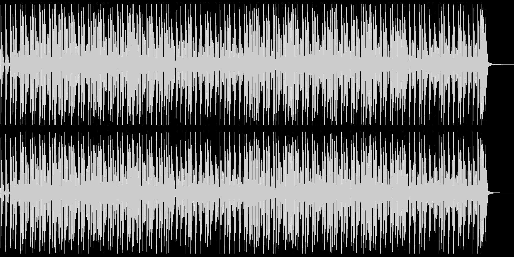 鼓笛隊による可愛いらしいマーチの未再生の波形