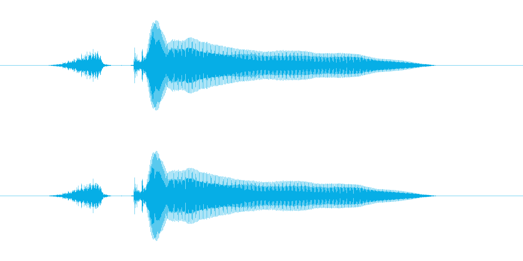 スコーン!の再生済みの波形