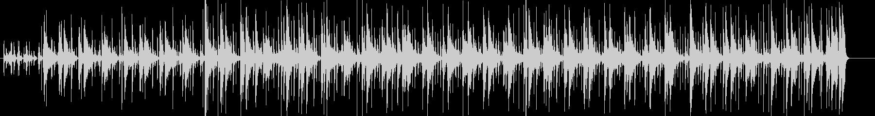 ウクレレが特徴的な南国リゾート風BGMの未再生の波形