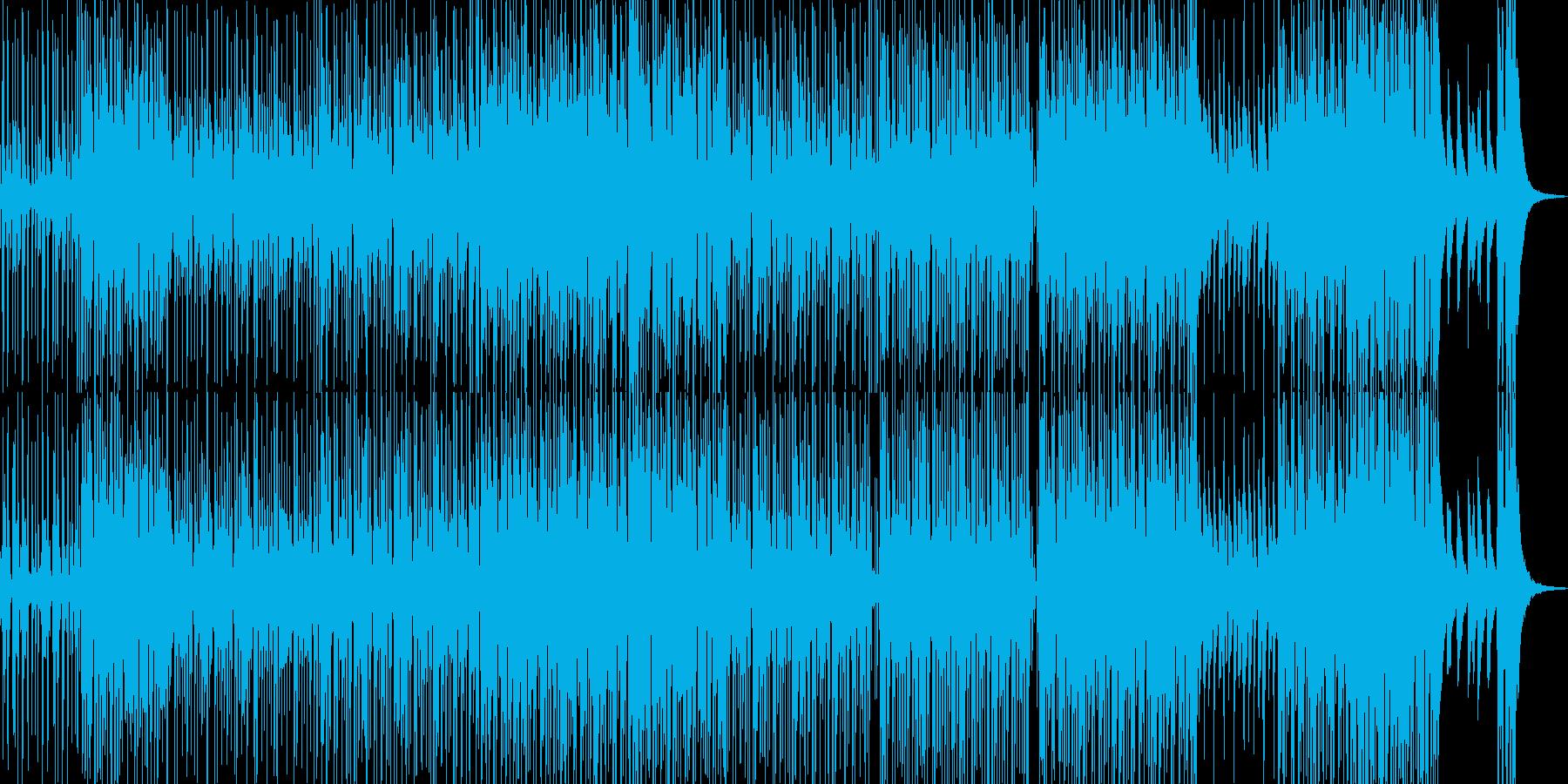 楽しくも切ないブラス系R&Bの再生済みの波形