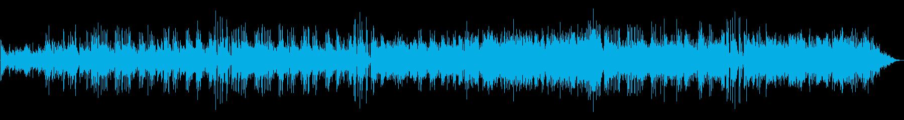 アンニュイな感じのギターサウンドの再生済みの波形