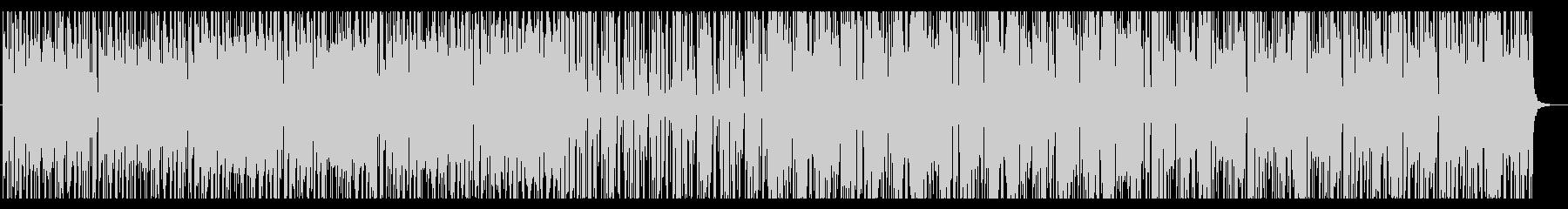 哀愁のスパニッシュギターとクラップの未再生の波形