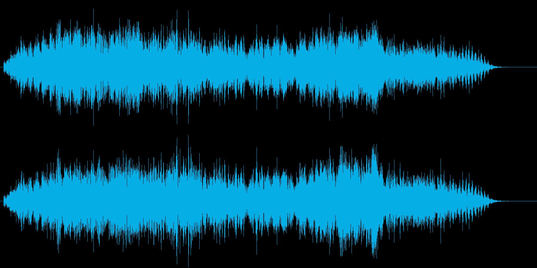 自動車の急ブレーキ2 キキキーーーッの再生済みの波形