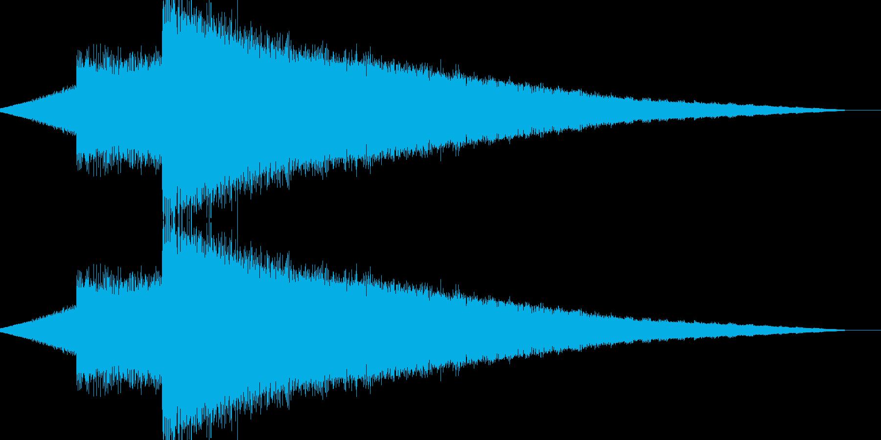 レトロゲーム風魔法・バリアや氷系3の再生済みの波形