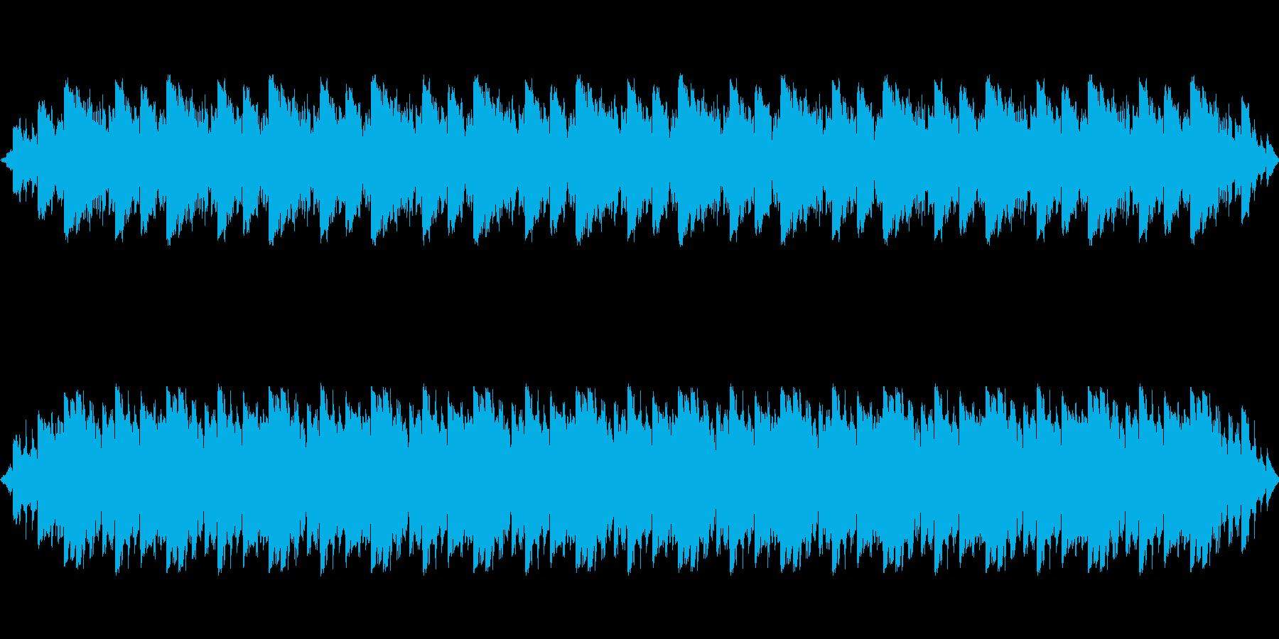 単調なアンビエント・神秘的な雰囲気の再生済みの波形