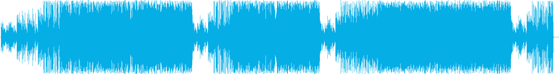 幻想的な雰囲気のHIPHOPの再生済みの波形