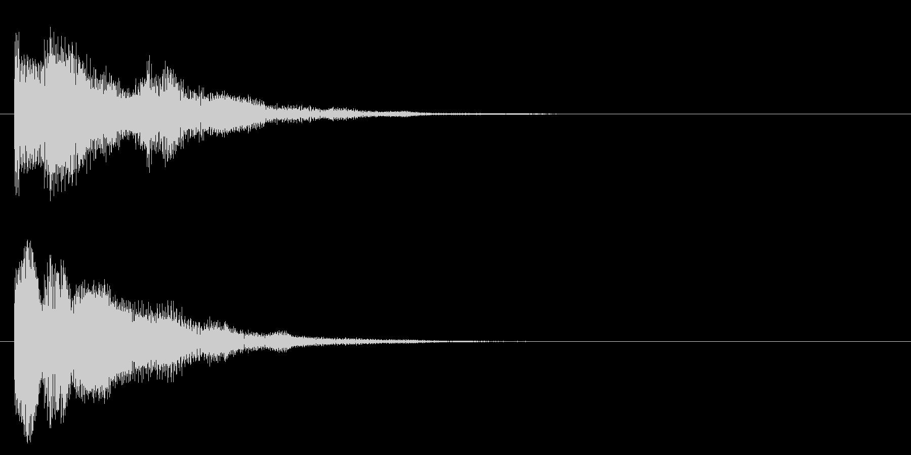 アイテムゲット・謎が解けた3の未再生の波形