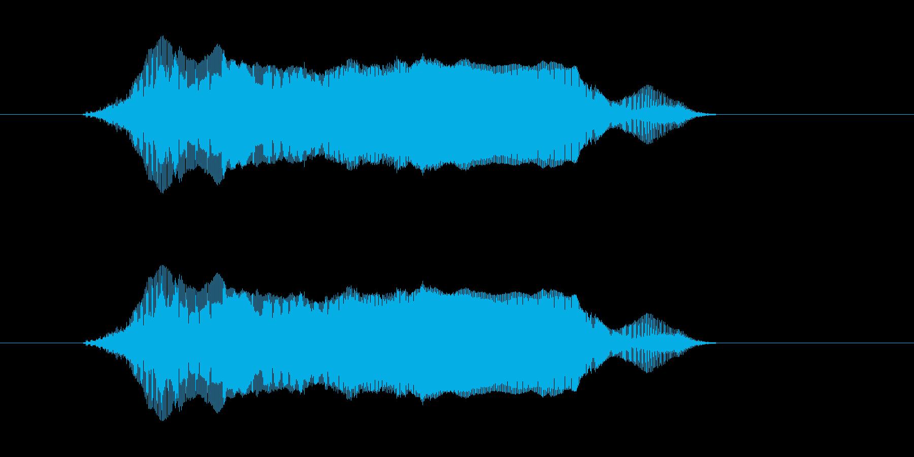 ギャー の再生済みの波形