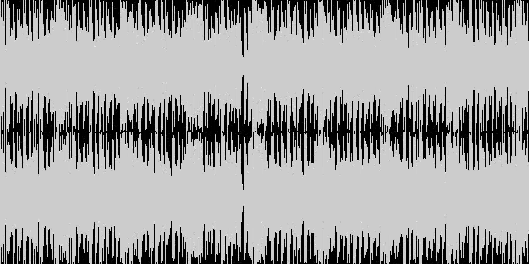 ダブステップLOOPの未再生の波形