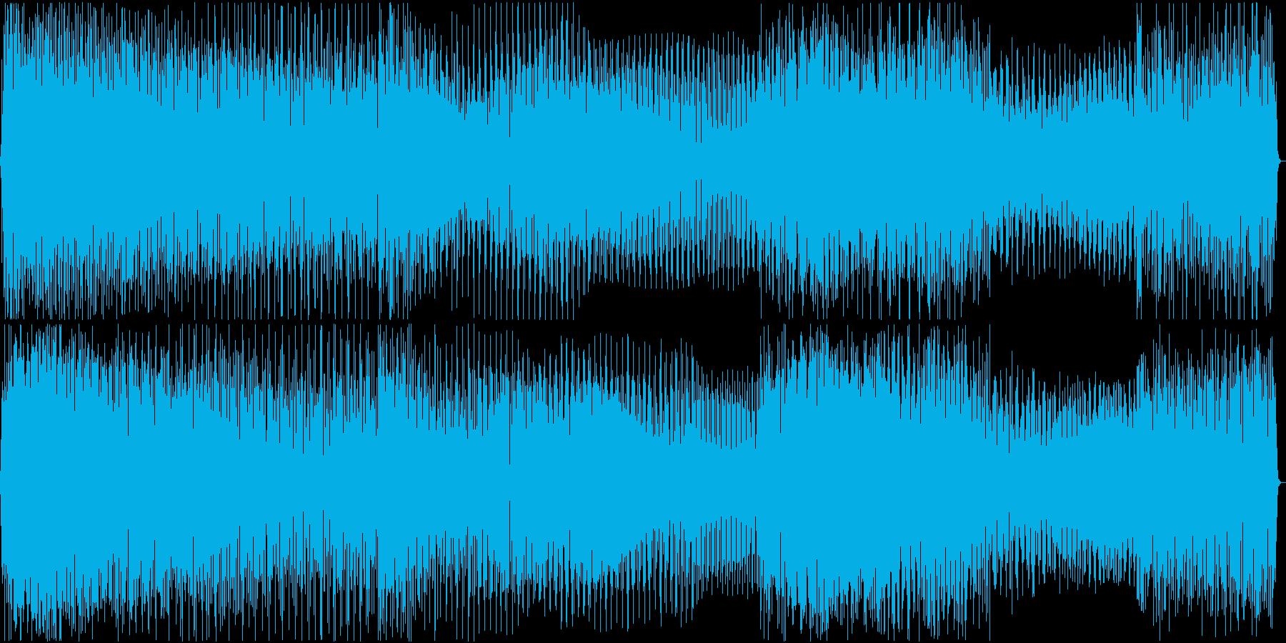 エレキギター サウンドロゴ・ジングル#1の再生済みの波形