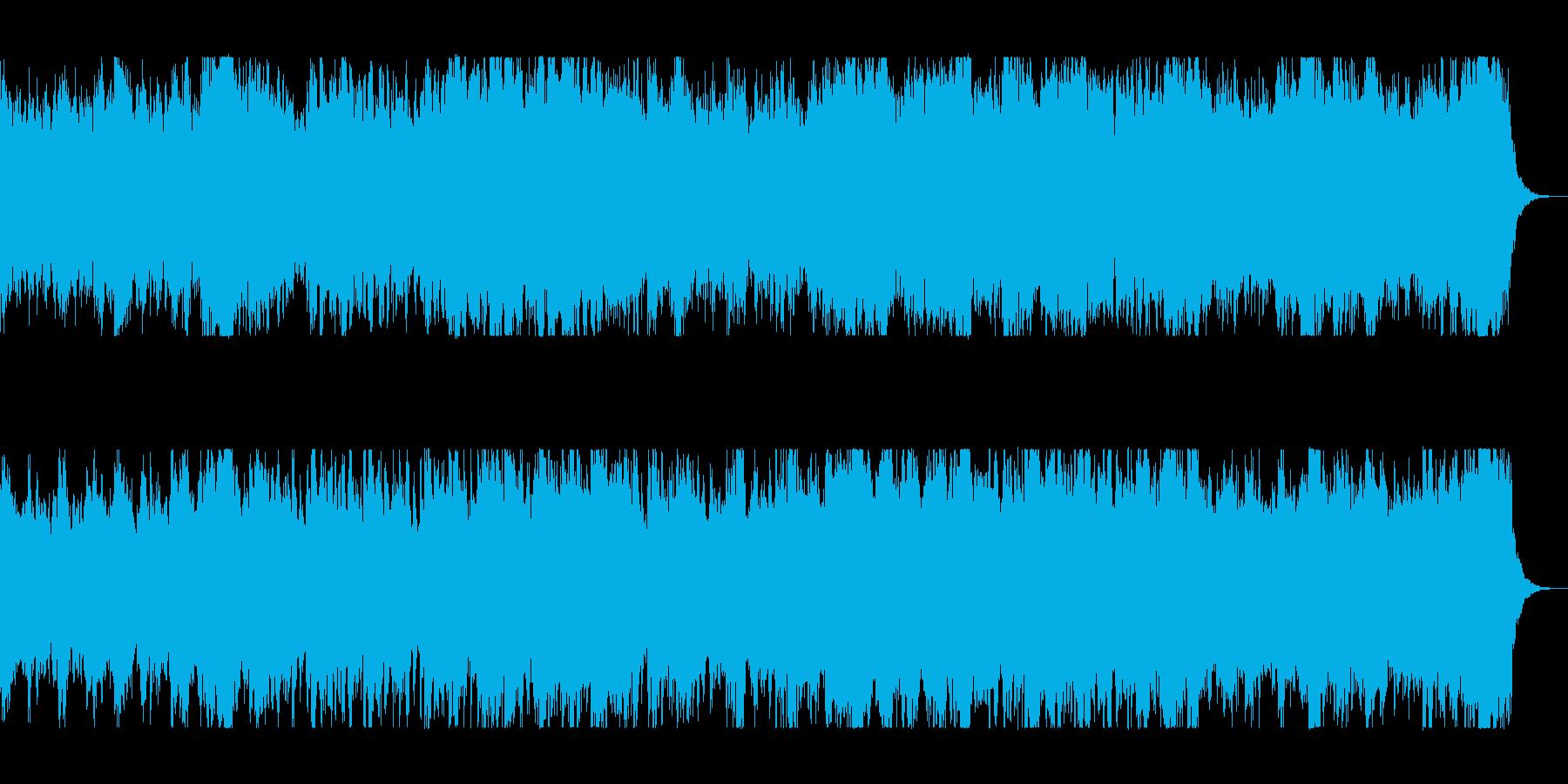 壮大でファンタジーな管弦打楽器シンセの再生済みの波形