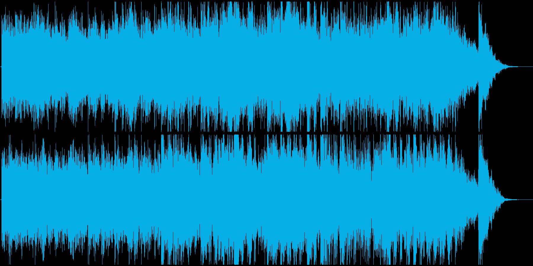 アコギの幻想的で美しいクラシックの再生済みの波形