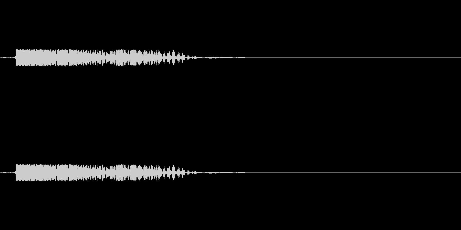 がぶっ(犬がかじりつく際の効果音)の未再生の波形