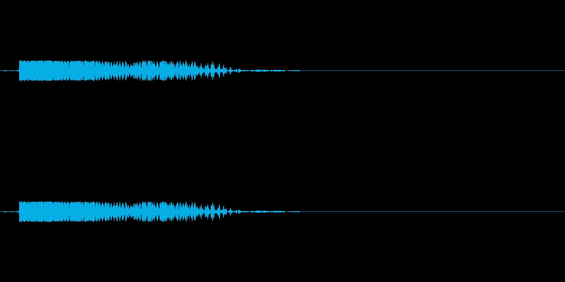 がぶっ(犬がかじりつく際の効果音)の再生済みの波形
