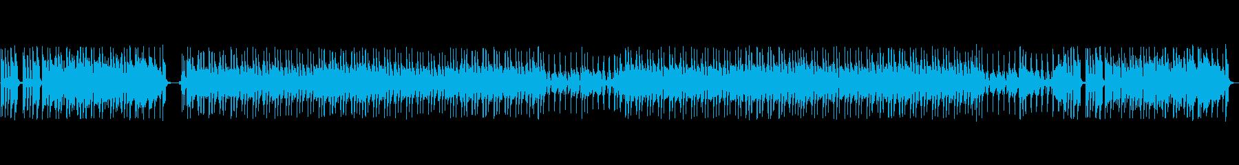 ニュース番組のオープニング風ファンク的…の再生済みの波形