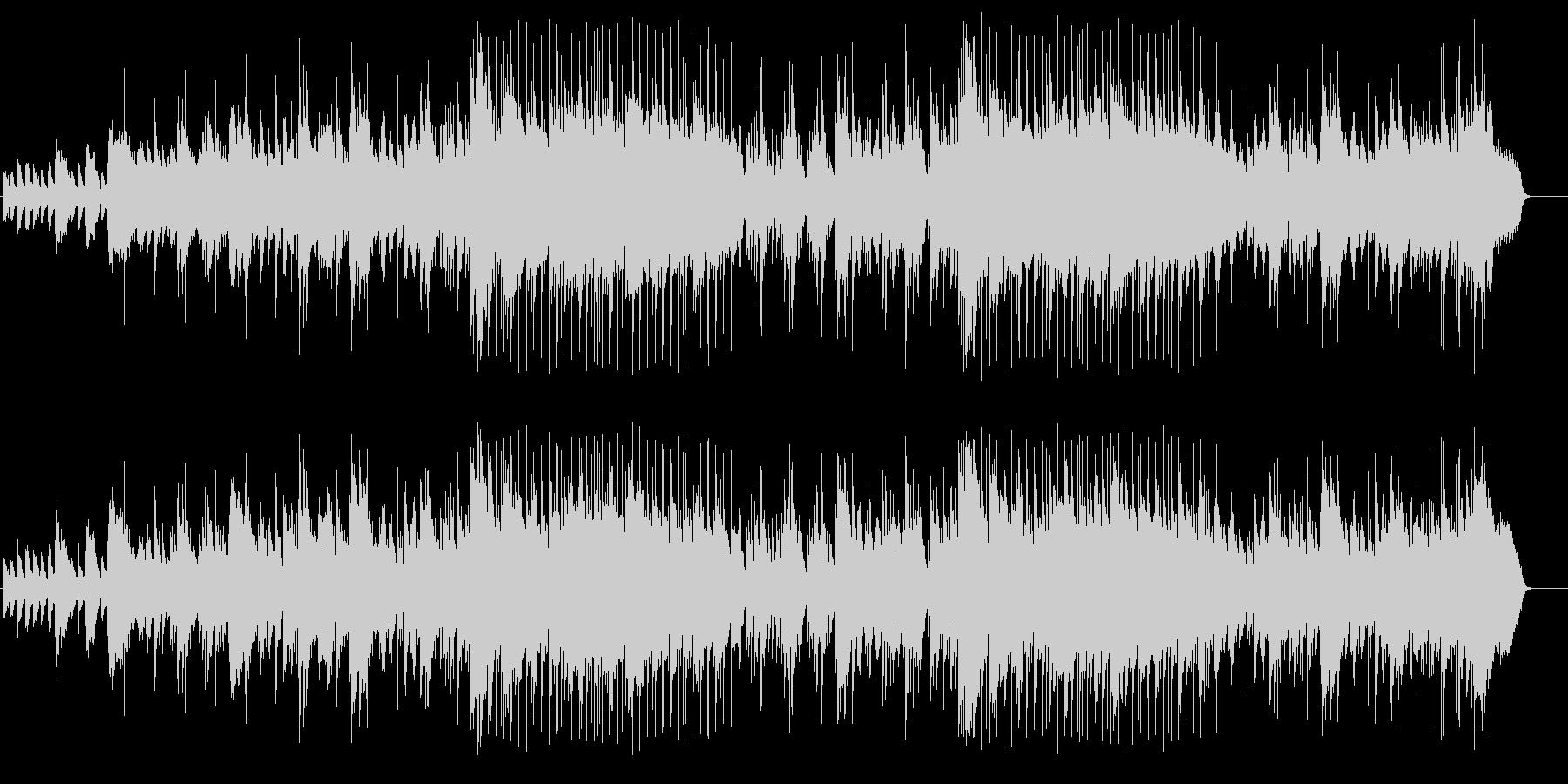 ミッドナイト風シリアス・バラードの未再生の波形