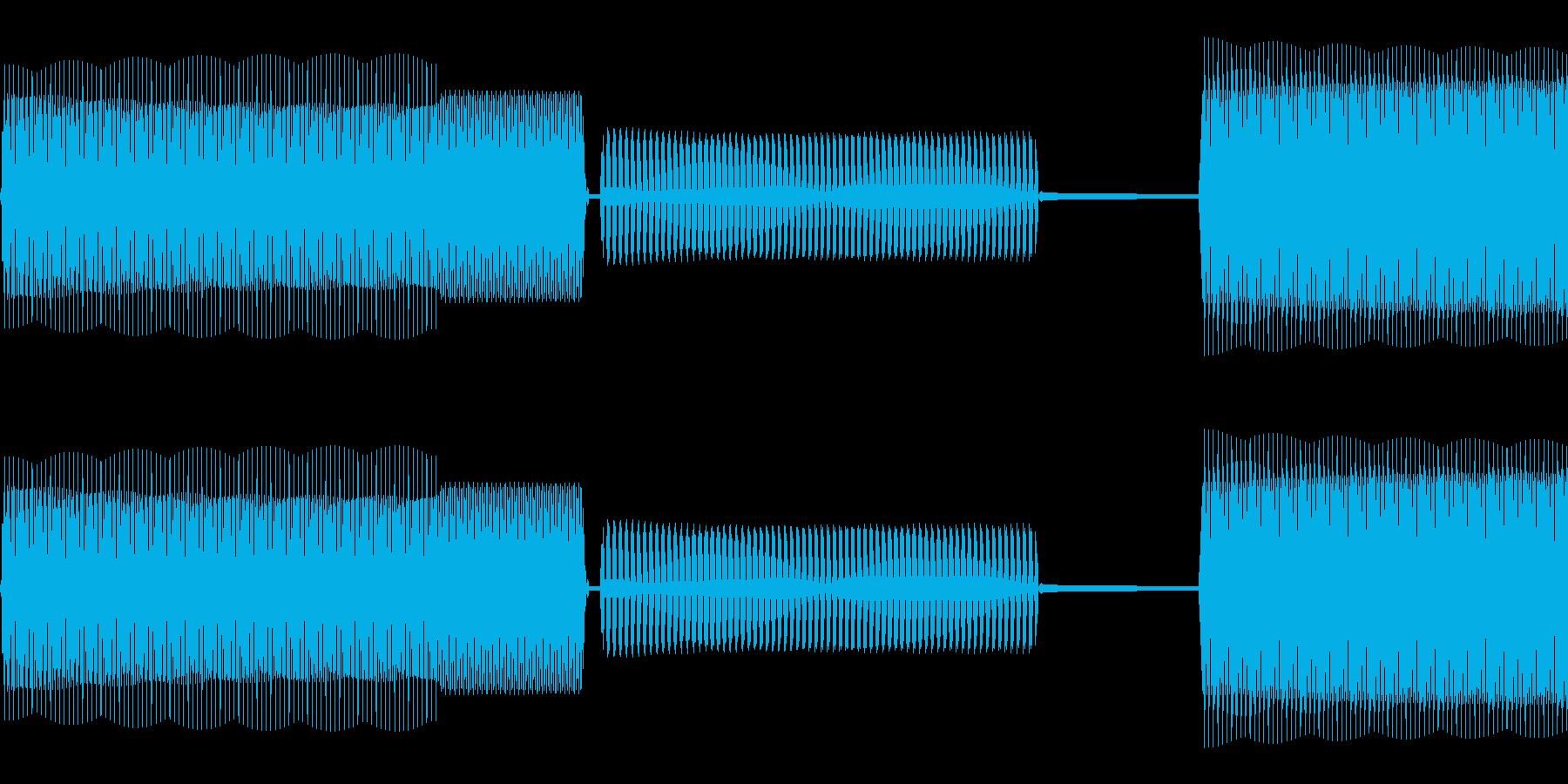 スマホの録音、録画音を意識しました。の再生済みの波形