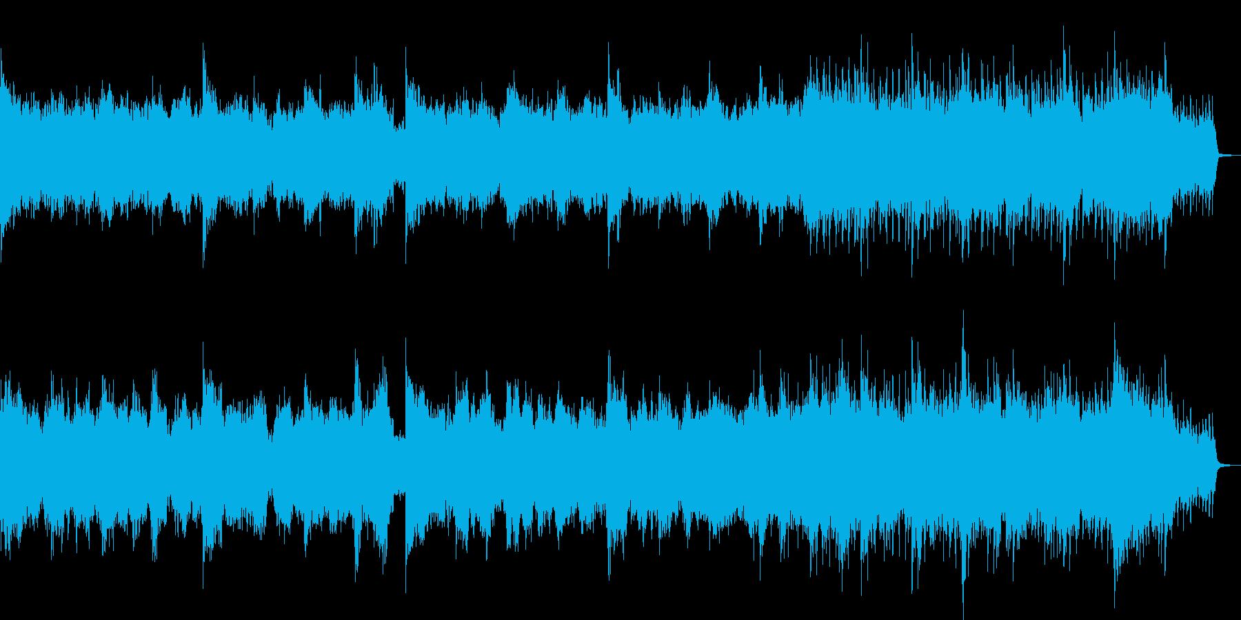 結婚式卒業式感動系に合うBGMの再生済みの波形