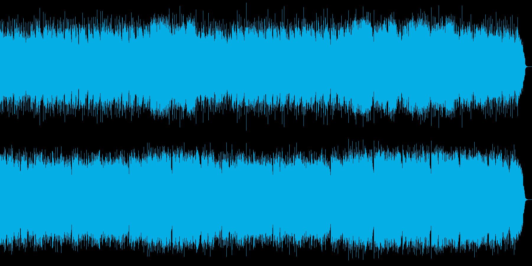 ほのぼのとして気持ちが高鳴るポップスの再生済みの波形