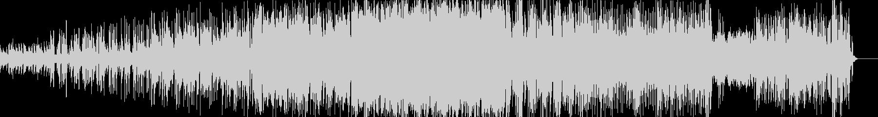 エレクトロ系 弦、シンセブラス、ドラムの未再生の波形