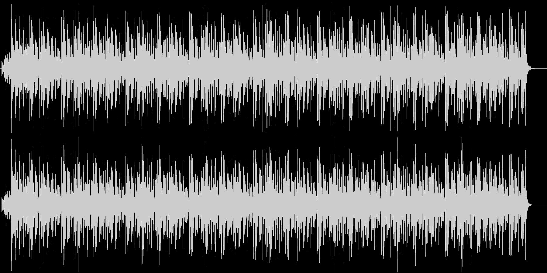 常夏の海辺に最適、カリビアンなレゲエ調曲の未再生の波形