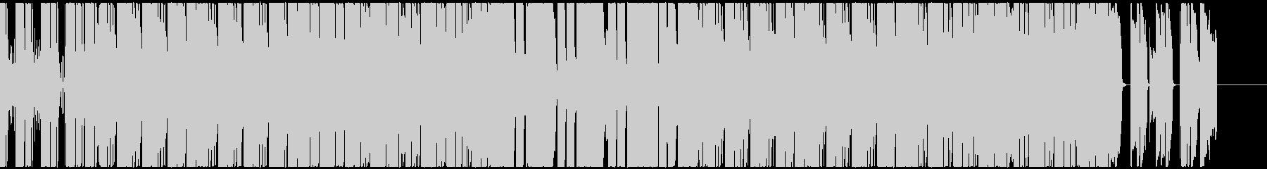 ポップで鮮やかなファンクエレクトロの未再生の波形