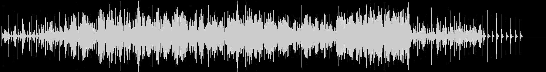 独特なリズムと生ヴァイオリンの怪しげな曲の未再生の波形