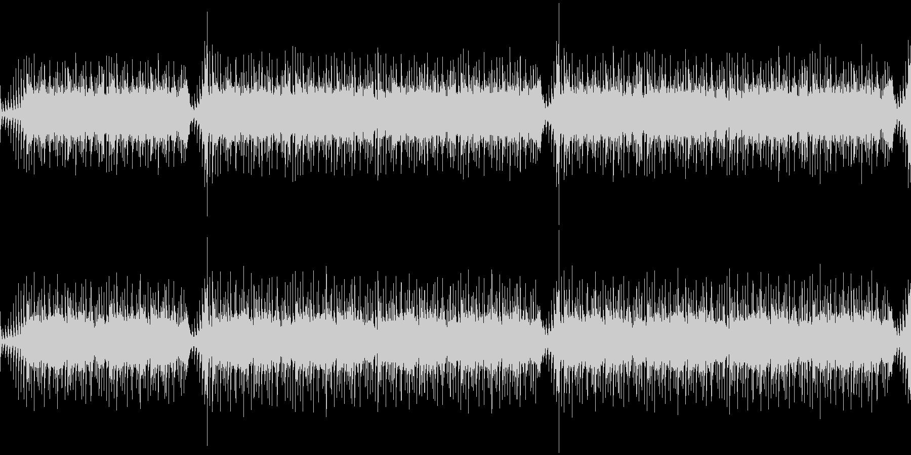 学生の研究課題のアニメーションのBGM…の未再生の波形
