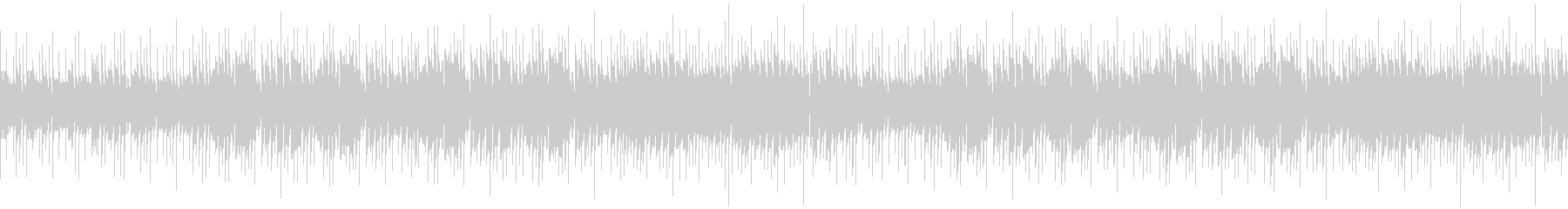 活気のあるエレキのアルペジオの未再生の波形