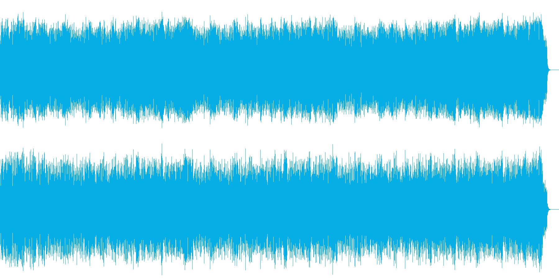 元気なテーマ・ポップス(フルサイズ)の再生済みの波形