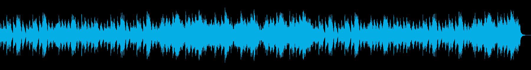 静かでおだやかでやさしいBGMの再生済みの波形