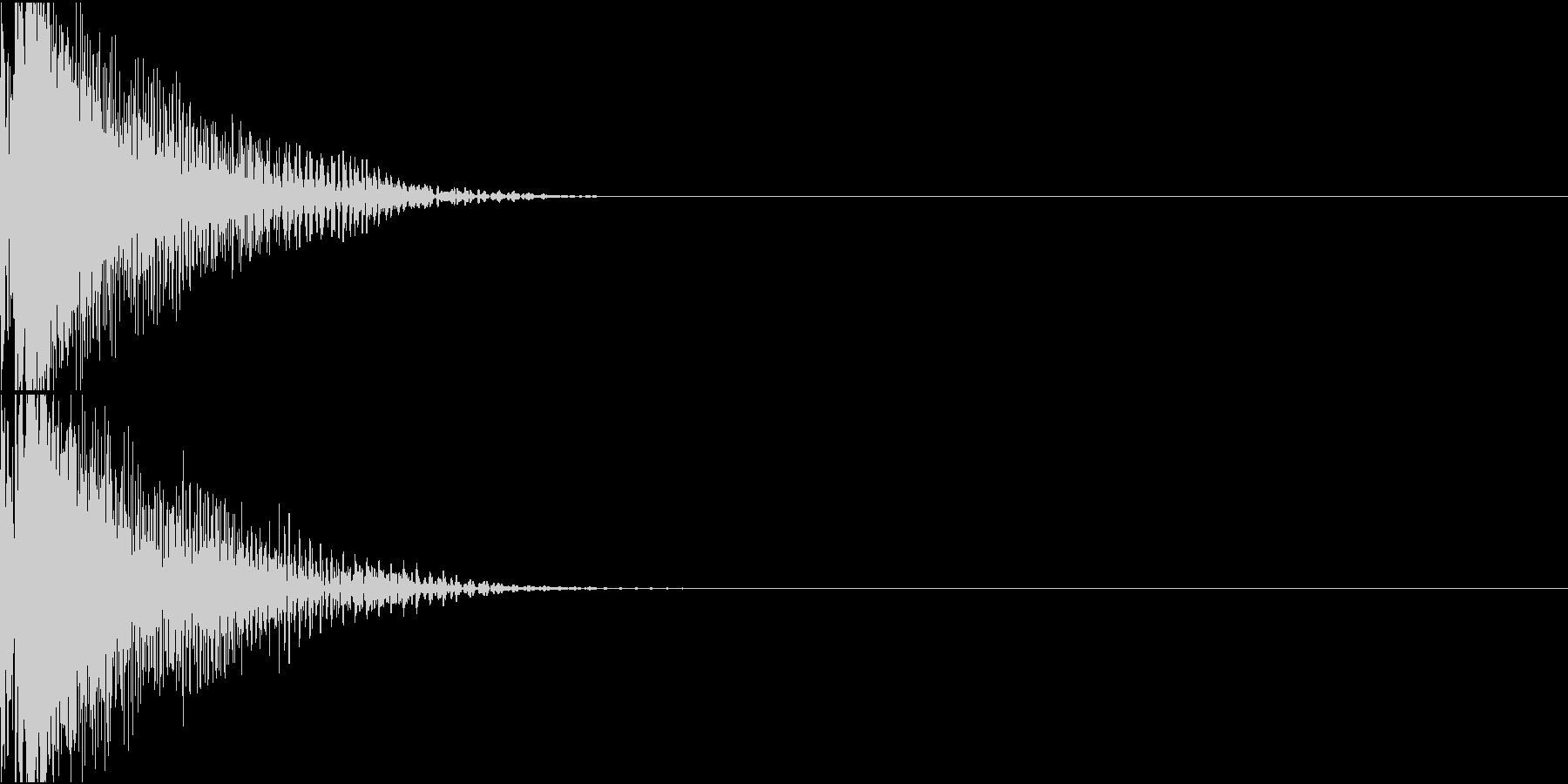 LaserGun レーザーガン 銃撃音の未再生の波形