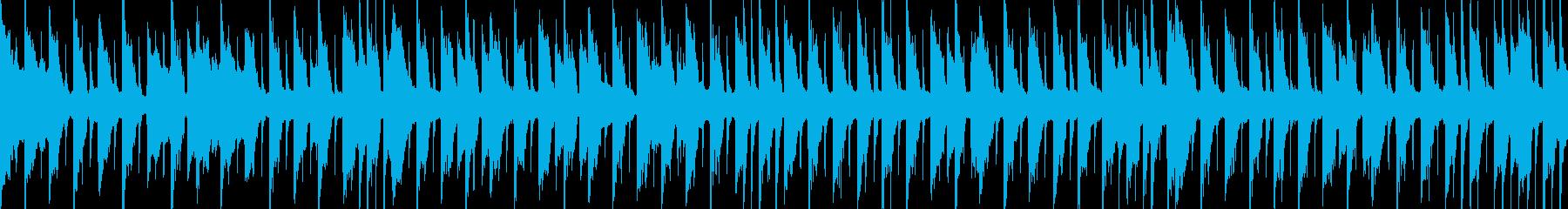 ループ素材 情熱的・力強い・不屈さの再生済みの波形