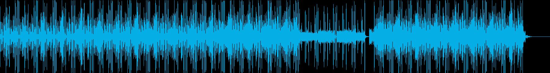 日常・平凡・平常シーンに使える打ち込み曲の再生済みの波形