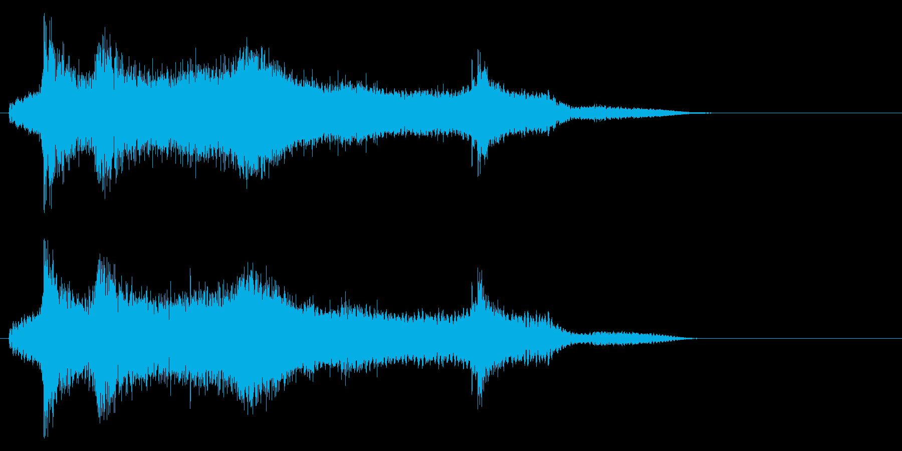 水に飛び込んだ 飛び込む時の効果音!2bの再生済みの波形