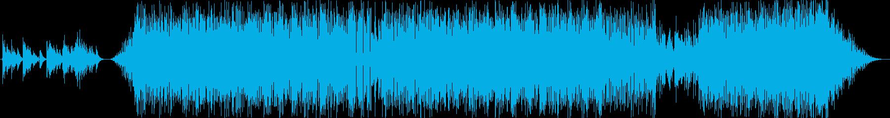 ミディアムテンポの強い意志を感じるボッサの再生済みの波形