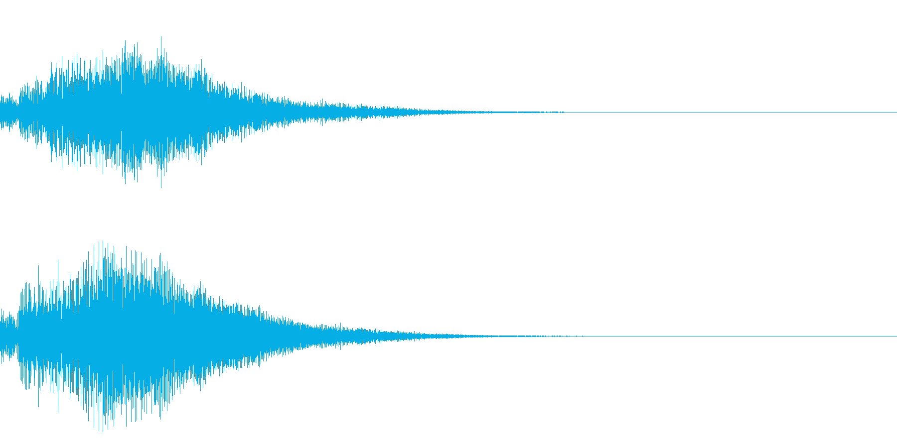 シンプルな決定音 ボタン音 正解音 19の再生済みの波形