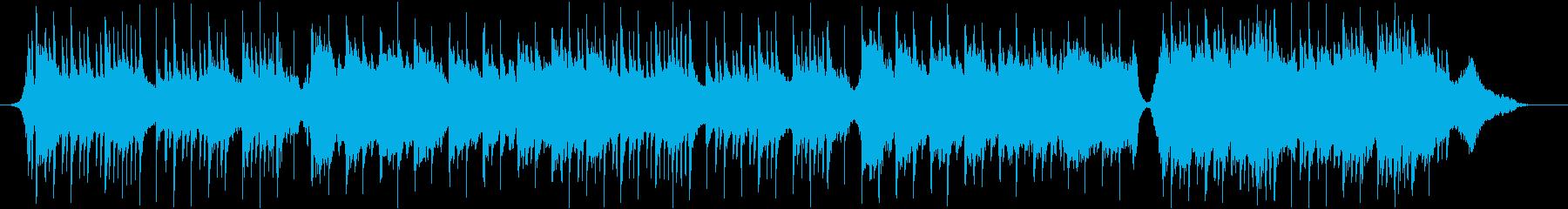 箏のメロディで和風なゆったりとした曲の再生済みの波形
