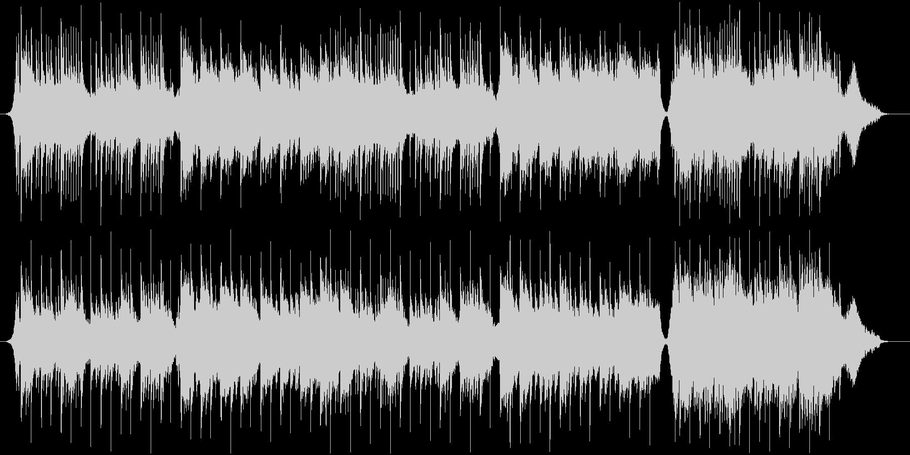 箏のメロディで和風なゆったりとした曲の未再生の波形
