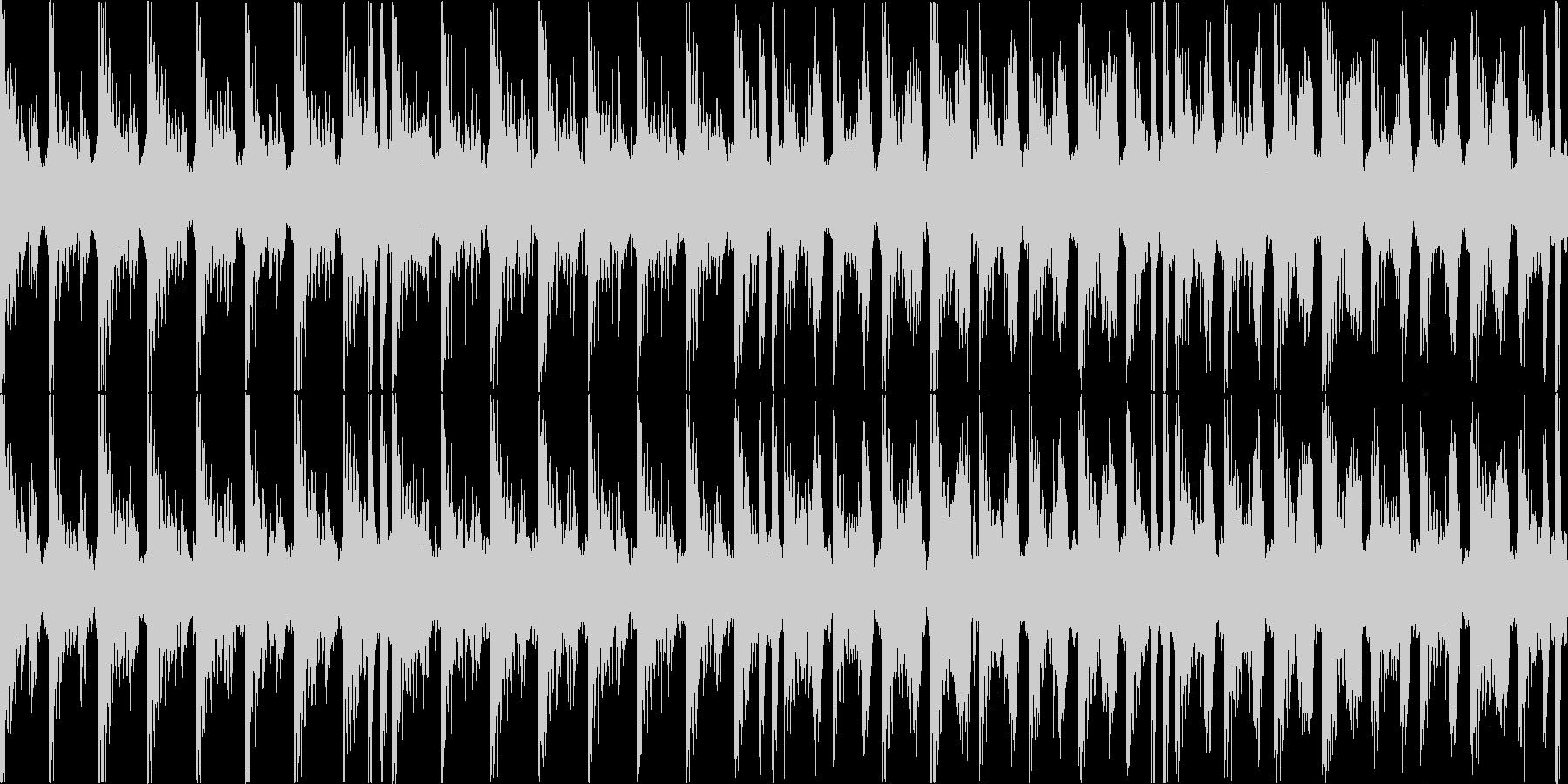 エレピの甘い雰囲気を持った曲の未再生の波形